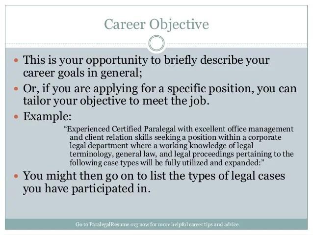 describe your career objectives - Ozilalmanoof