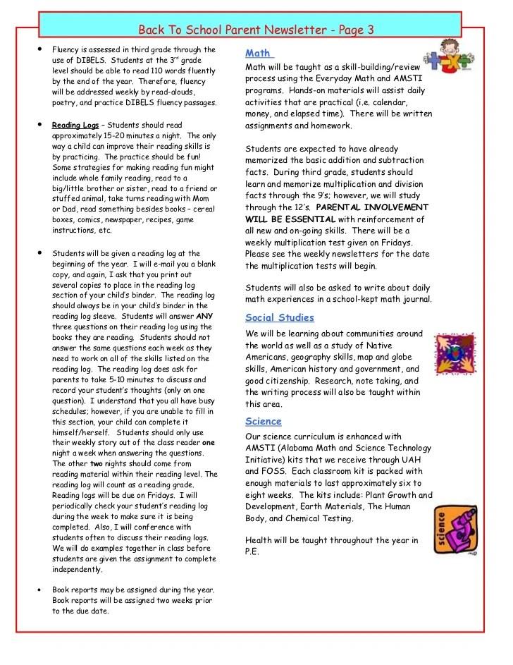 Reading University 2nd-3rd Grade Book Report