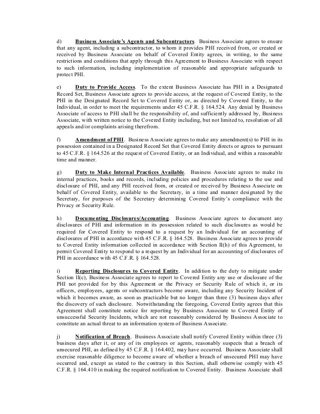 Loan Agreement Template Museum – Business Associate Agreement Template