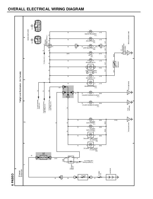 √ 1992 toyota camry wiring diagram manual original1992 toyota paseo fuel pump wiring diagram wiring