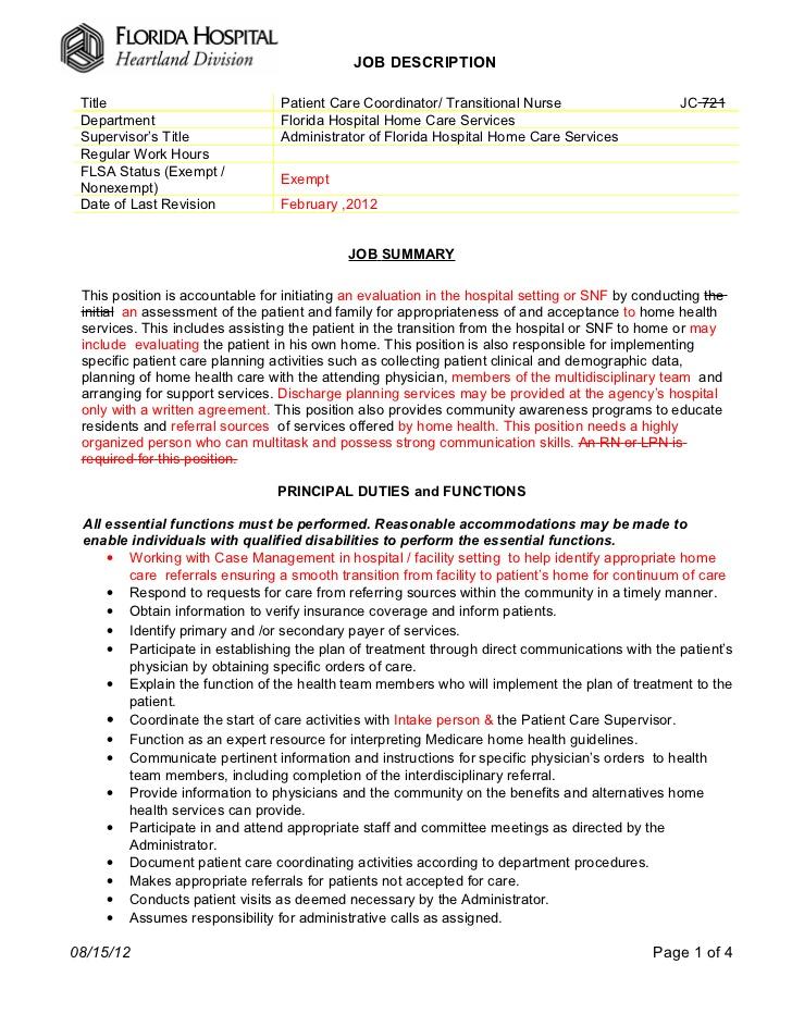 Floor Assistant Job Description – Dental Assistant Job Description