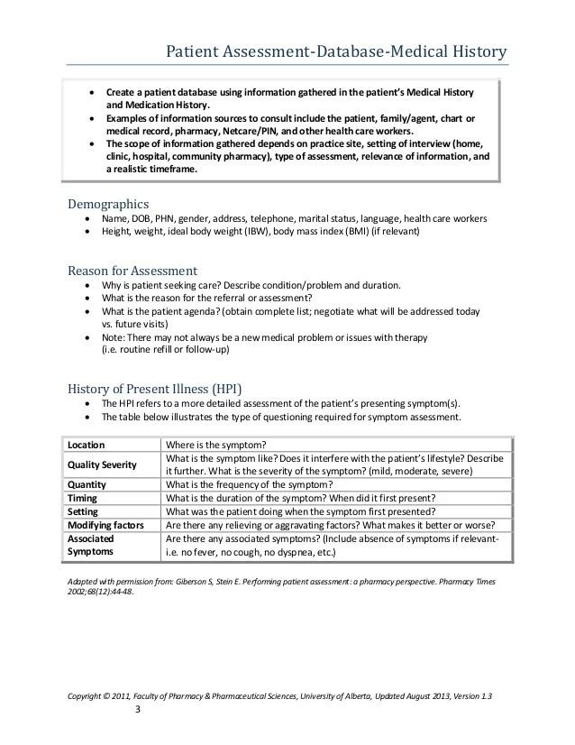 patient profile template - Goalgoodwinmetals - patient profile template