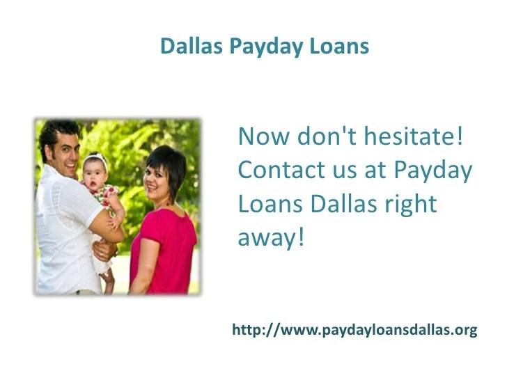 Payday Loans Dallas- Short Term Loans- No Credit Check Installment Lo…