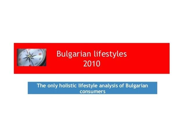 Pazaren kompas 2010 - Lifestyle in crisis