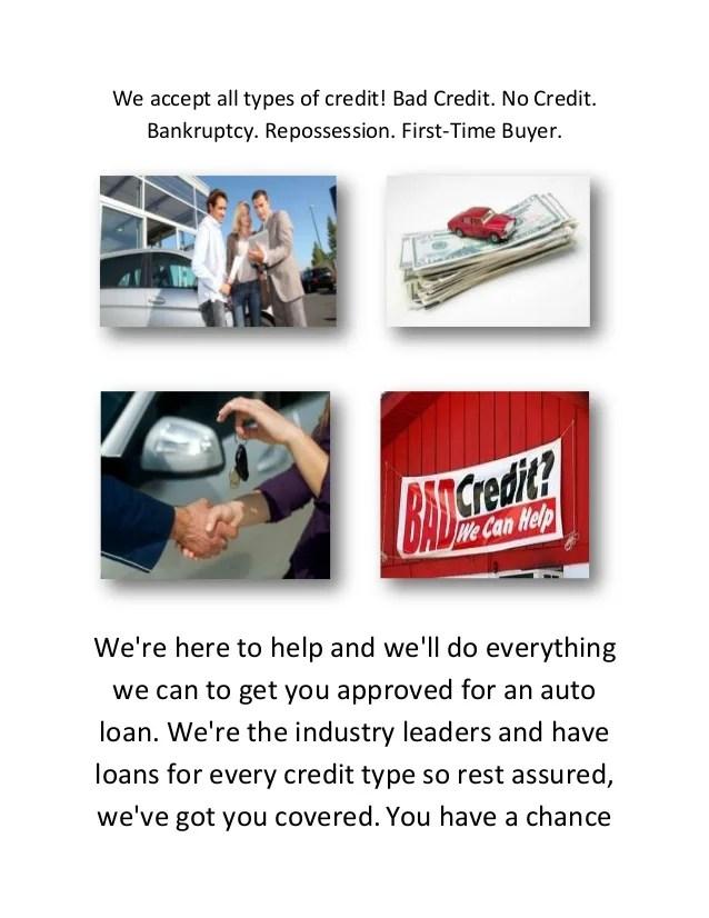 Bad Credit Auto Loan Center in Colorado Springs, CO