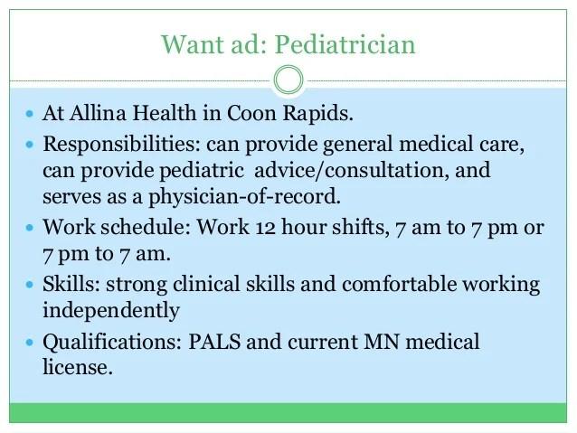 pediatrician qualifications - Maggihub-rural - pediatrician job description