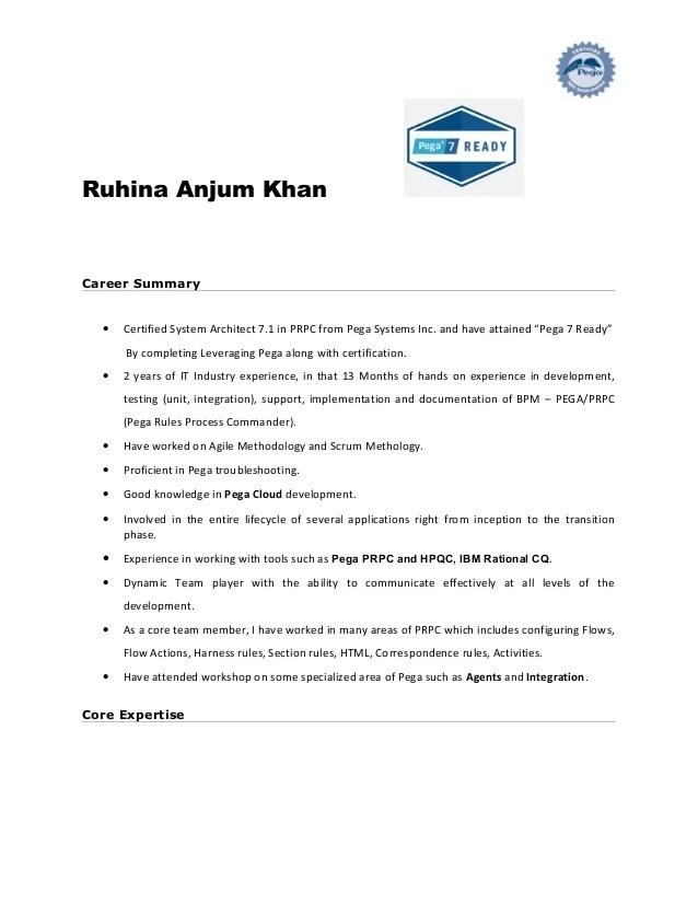 microsoft pega resume templates
