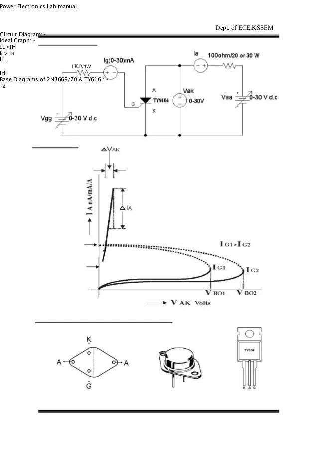 rc triggering circuit