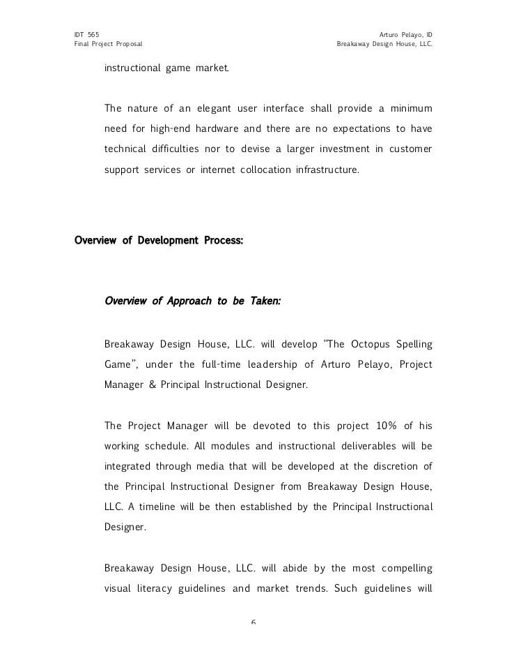 design project proposal sample - Jolivibramusic