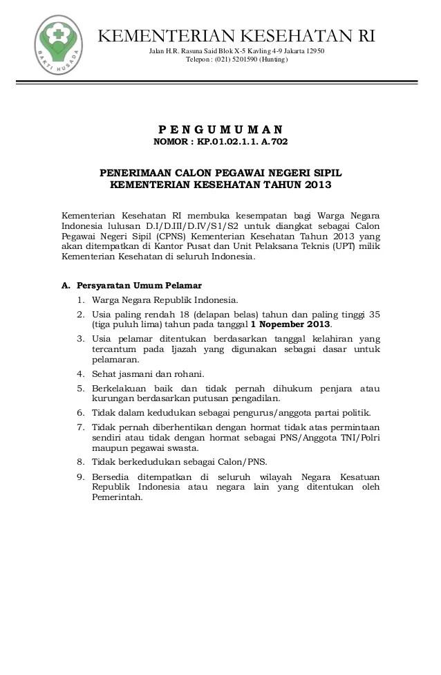 Penerimaan Cpns 2013 Surabaya Depag Lowongan Cpns Kemenag Pusat Info Bumn Cpns 2016 Pengumuman Penerimaan Cpns Kemenkes Tahun 2013