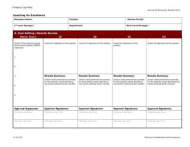 employee coaching form template - Towerssconstruction