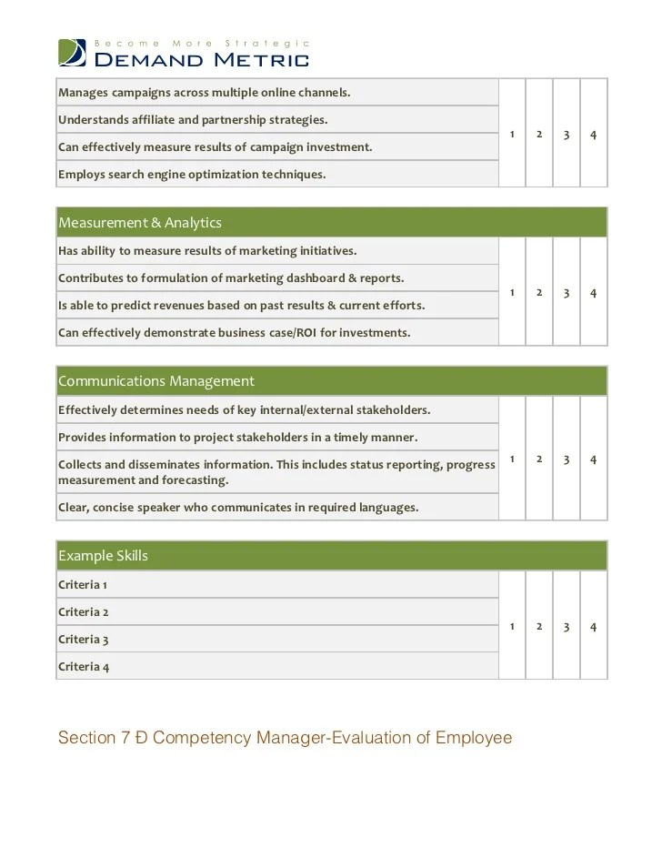 performance review form templates - Intoanysearch - sample employee evaluation form