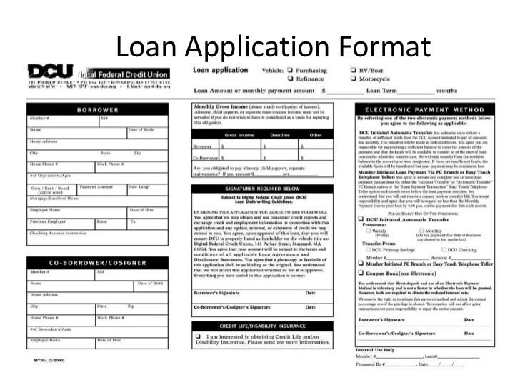 Personal loan