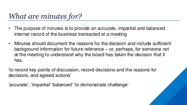 how to take minutes in a business meeting