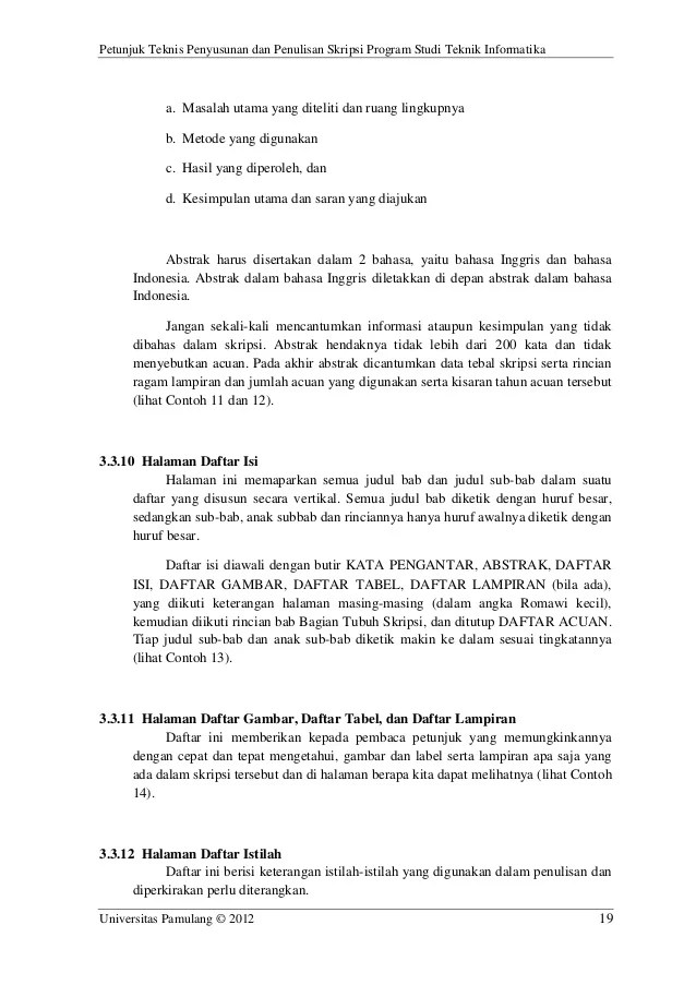 Contoh Judul Skripsi Bahasa Indonesia Auto Electrical Wiring Diagram