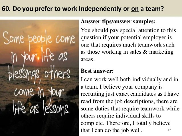 best situational interview questions - Intoanysearch