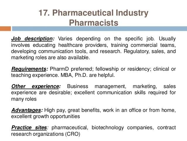 A career description pharmacist Term paper Service sapaperrhbb