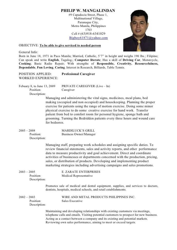Resume Example In Tagalog Resume Ixiplay Free Resume Samples - halimbawa ng resume
