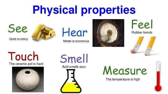 physical properties of matter - Canreklonec