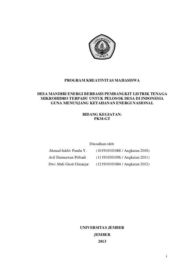 Contoh Penelitian Susu Contoh Artikel Pendidikan Artikel Indonesia Contoh Proposal Pkm Yang Didanai Dikti Slideshare Share The
