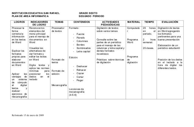 formato plan de trabajo word - Apmayssconstruction