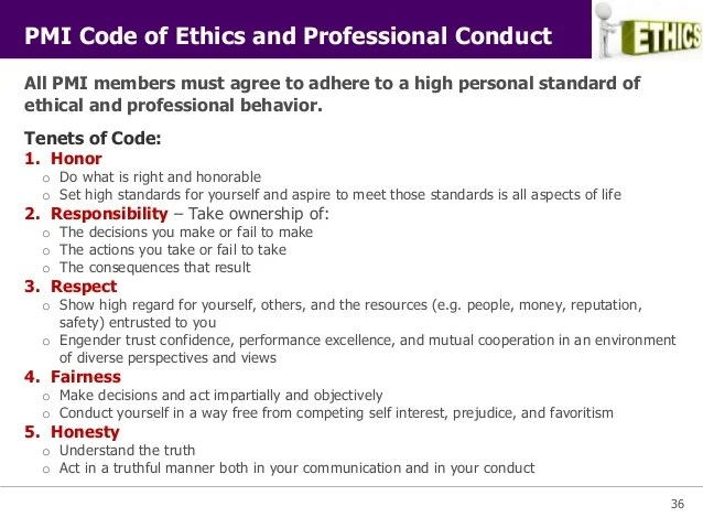 Business code of ethics essay