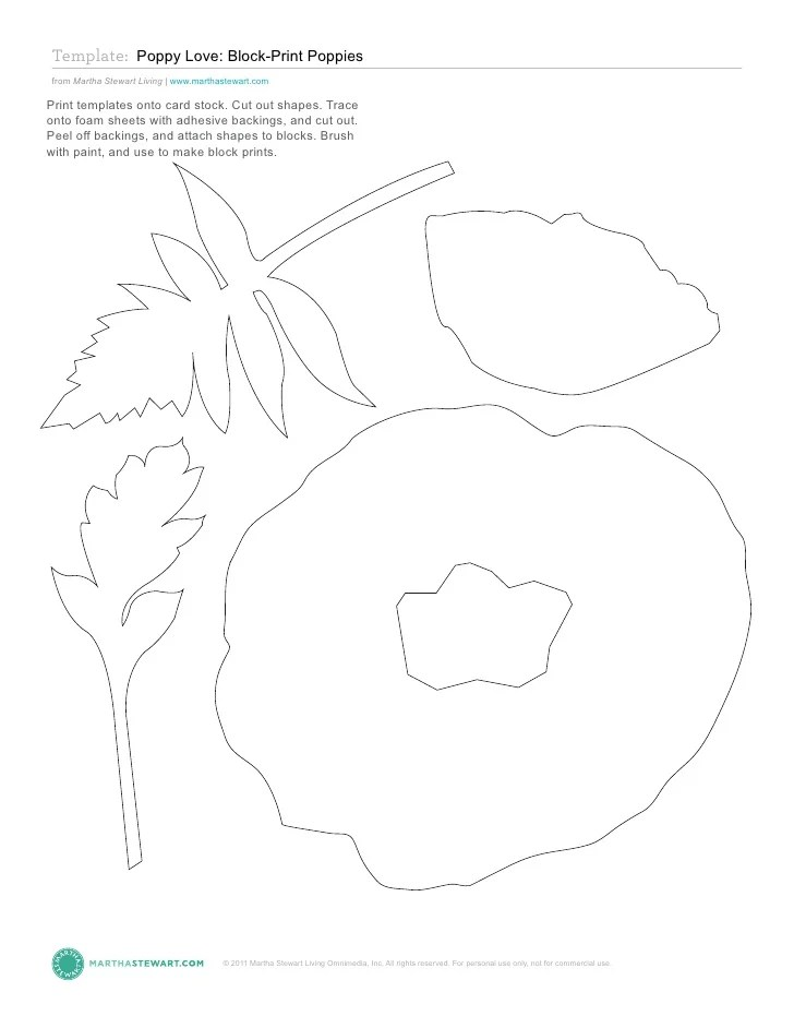 poppy templates - Kubrakubkireklamowe