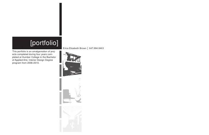 interior design portfolio examples pdf