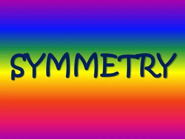 symmetry power point