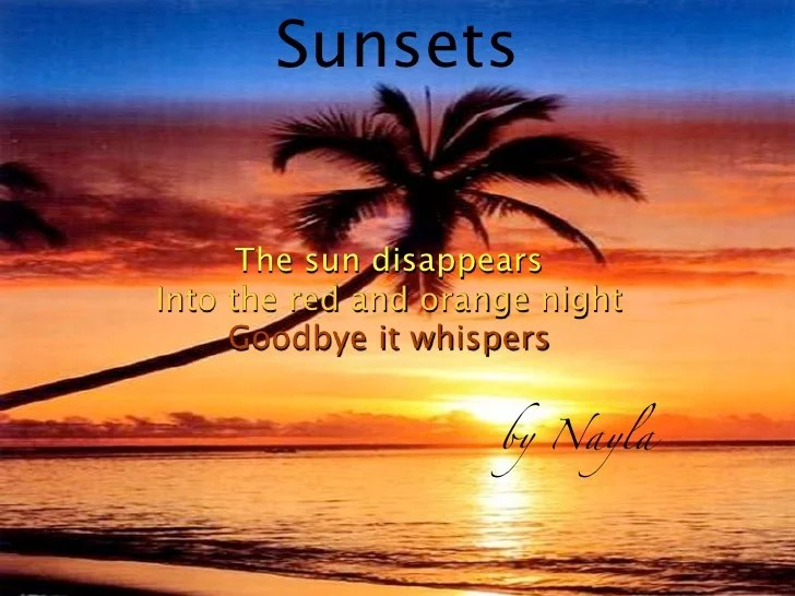 Evening Wallpaper With Quotes Powerpoint Haiku