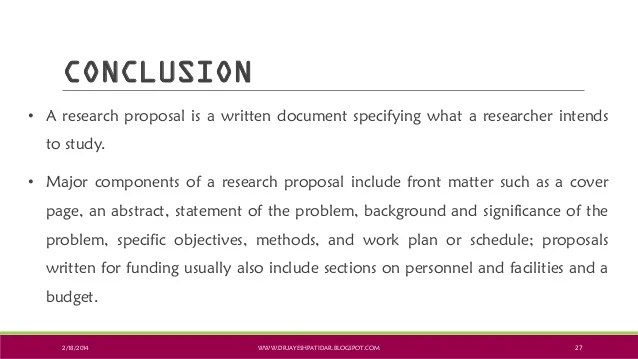 Format For A Quantitative Research Proposal Epi Result Ppt Developing A Research Proposal
