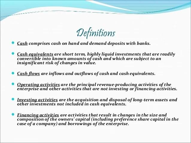 Accounting Standard-3 Cash Flow Statement by Nithin Raj
