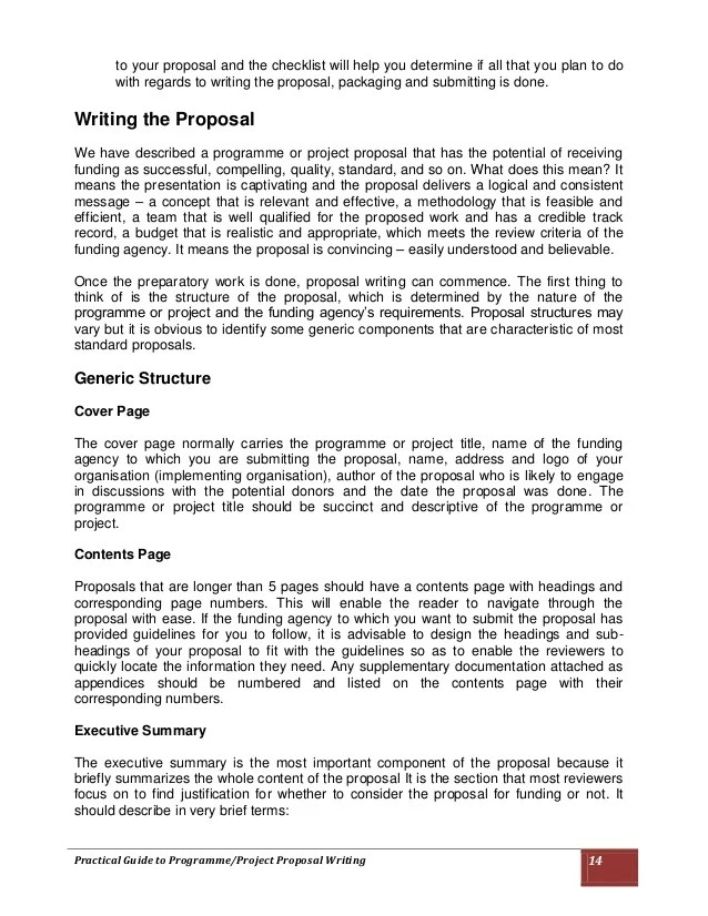Grant Proposal Review Example  Sample Form Special Power Of Attorney