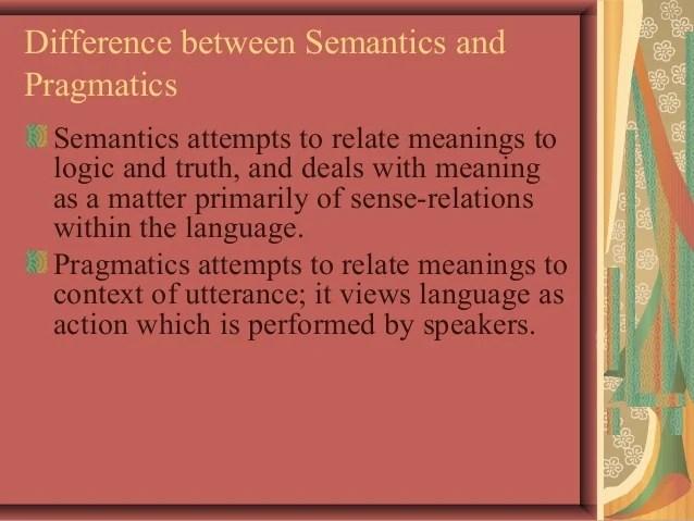 pragmatics presentation
