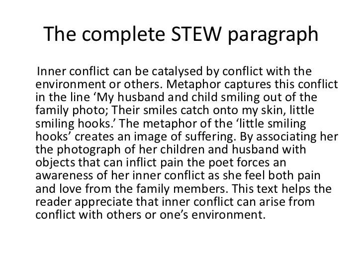 essay on conflict - Pinarkubkireklamowe