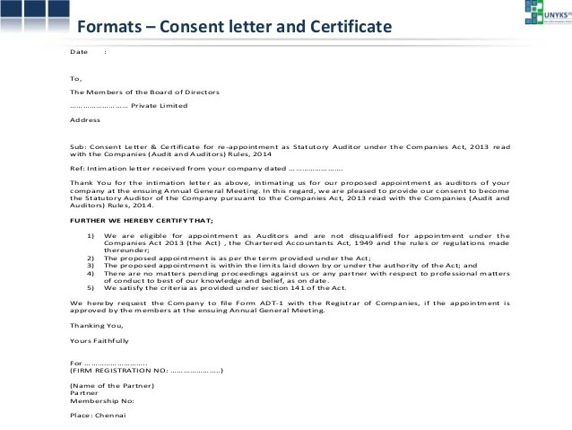 Sample Appointment Letter Template For Auditors In Doc Presentation On Auditors Pdf