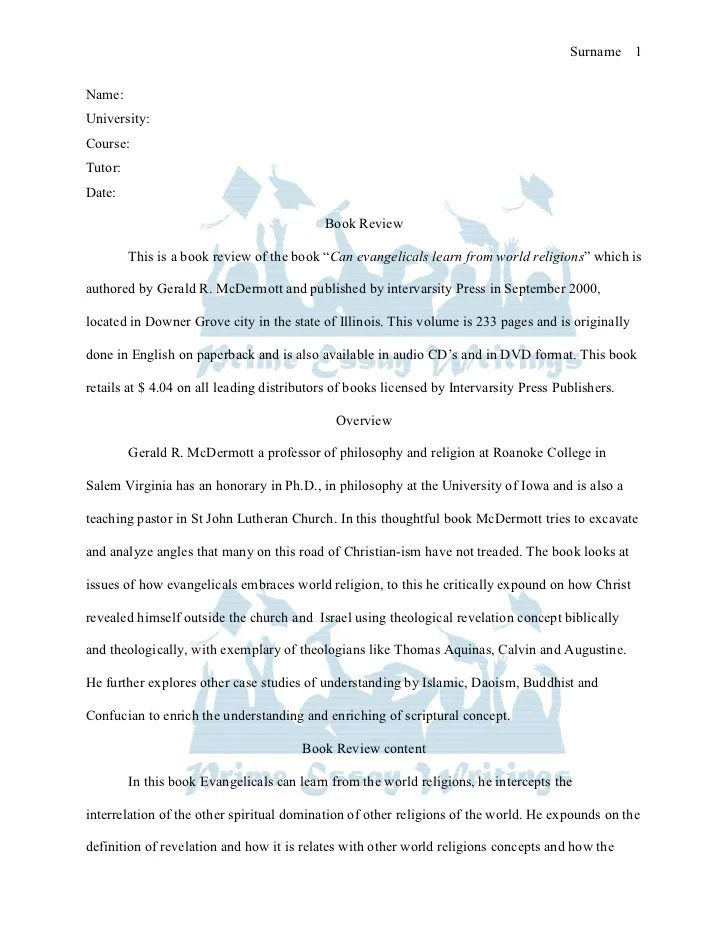 writing book report – Book Report Template for High School