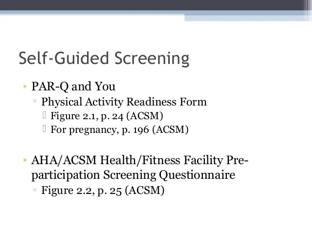 acsm fitness assessment form - Mersnproforum