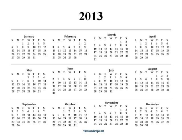 Yearly Calendars 2012 2013 2014 2015 Calendars Printfree Printable Monthly 2015 Printable 2013 One Page Yearly Pdf Calendar