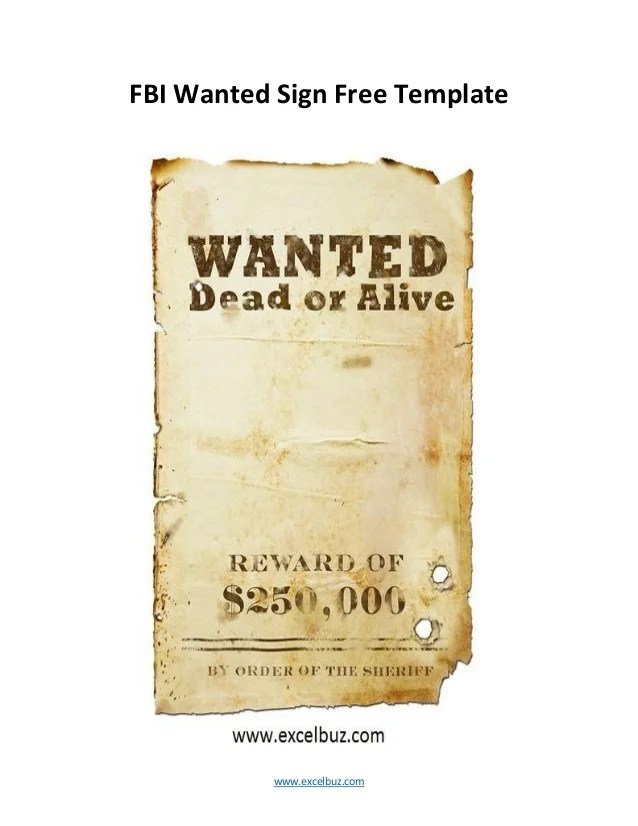 Most Wanted Posters Templates blank wanted posters creating a - most wanted posters templates