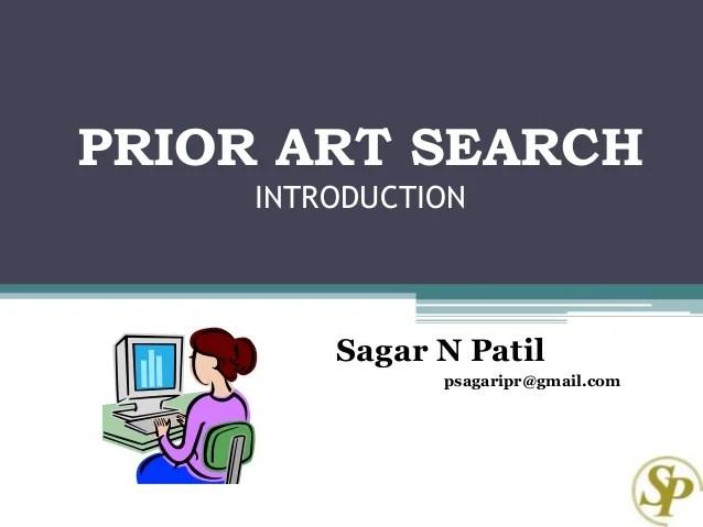 Prior art search