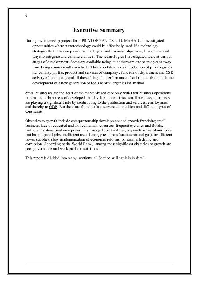 Finance Internship Project Report   Best   Resume   Samples