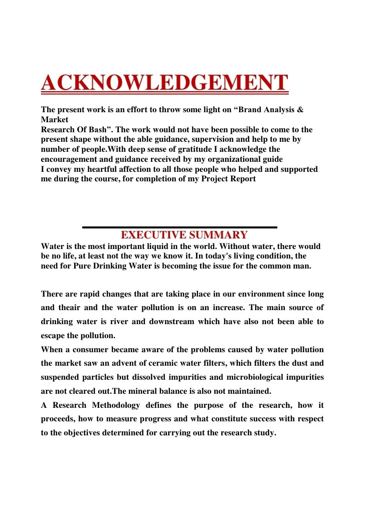 Project Thesis Acknowledgement Research Paper Help Mltermpapertdie