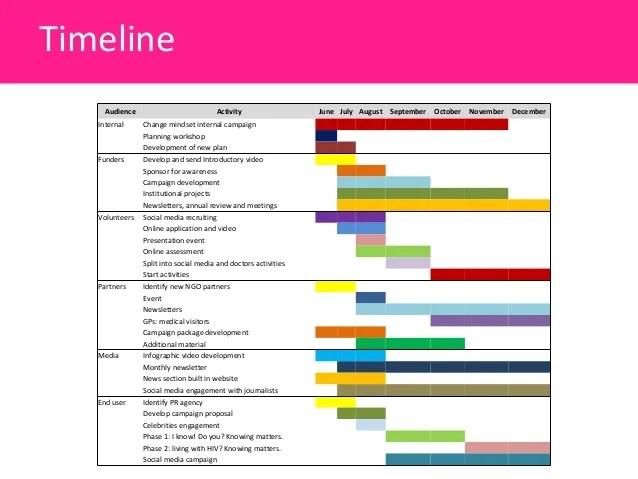 Pr Timeline Template  Plan