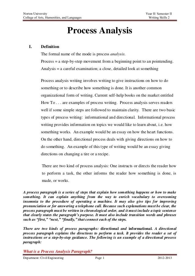 examples of a process essay - Maggilocustdesign - process essays examples