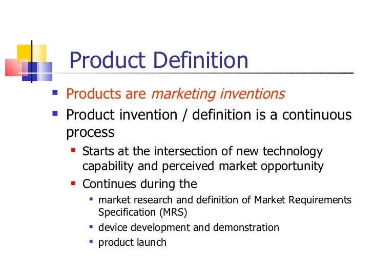 define product - Minimfagency - define product