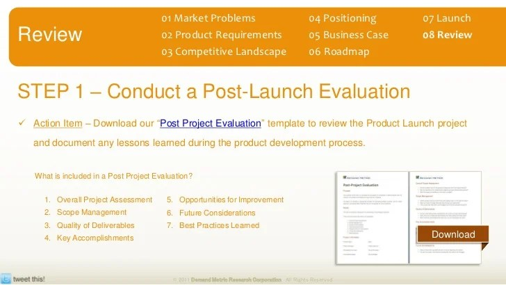 post launch review template - Acurlunamedia - project review template