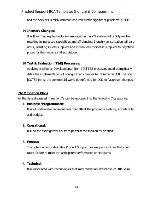 business case analysis template - Boatjeremyeaton