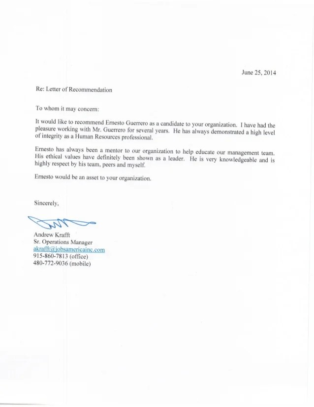 Sample Reference Letter Format The Balance Professional Reference Letter Andrew Krafft