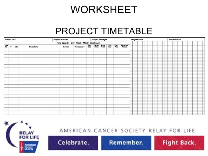project management timetable - Ozilalmanoof - project timetable